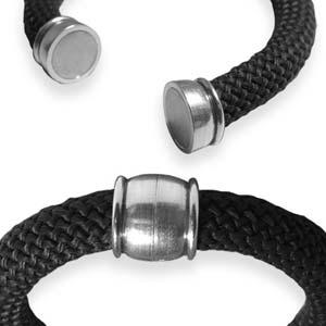 Climbing rope armbandskit med magnetlås