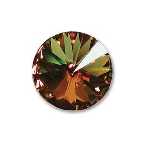 Swarovski Rivoli 14mm Crystal Sahara
