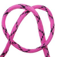 Paracord 550 4mm rosa/svart 5m