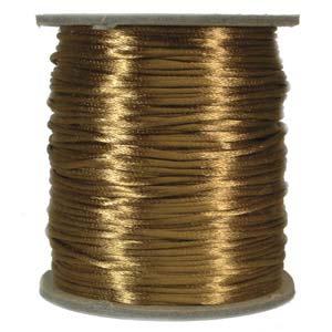 Satintråd 2mm camel 3 meter