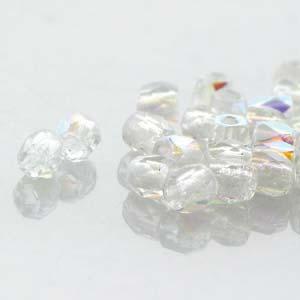 Firepolished True 2mm crystal AB 60st