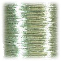 Satintråd 2mm mintgrön 3 meter