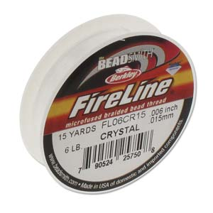 Fireline 6lb crystal 15yds