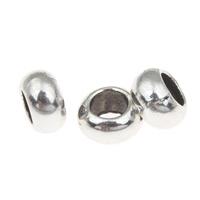 Metallpärlor rondeller 5x9mm 5st