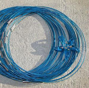 Halsband memory turkos 3st