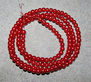 Klassiska 6mm ljust röda 70st
