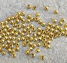 Kulor guldfärg 3mm ca 100st