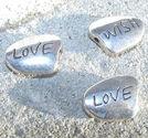 Budskapspärlor Love - Wish