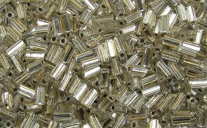 Glasstavar 3x5mm champagne 50g