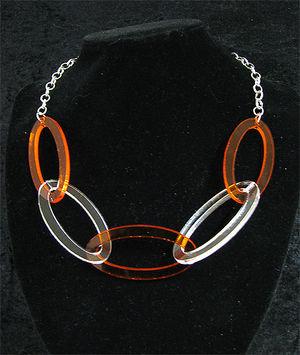 Halsbandsdelar ovaler 30x60mm