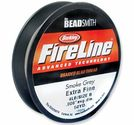 Fireline 4lb smoke grey 50yds