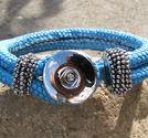 Chunk armband blått
