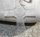 Plexiglas hänge keltiskt kors klart