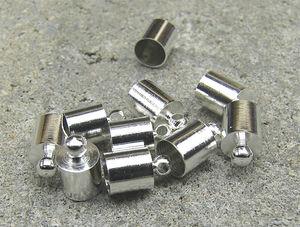Avslut hylsor släta med innermått 5mm 10st