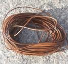 Vaxad polyestertråd 1mm brun 10m