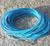 Vaxad polyestertråd 1mm blå 10m