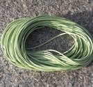Vaxad polyestertråd 1mm ljusgrön 10m