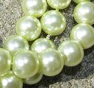 Klassiska 8mm mild ljusgrön 50st