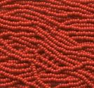 Seedbeads tjeckiska 11/0 red