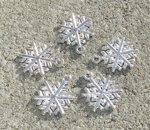 Berlocker täta snöflingor