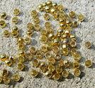 Klämpärlor rundade 2mm guld