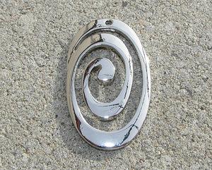 Hänge swirl 30x45mm