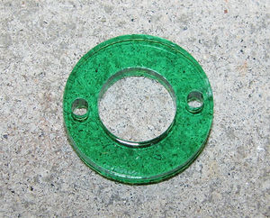 Plexiglas connector blomma 25mm