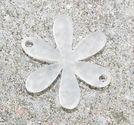 Plexiglas connector blomma 25mm