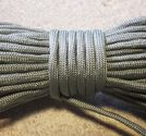Paracord 550 4mm gunmetal 5m