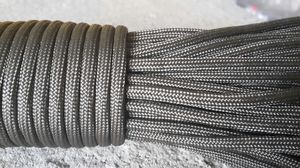Paracord 550 4mm brun 5m