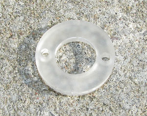 Plexiglas dalahästar med gravyr 20mm 2st