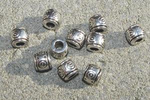 Mellandelar tunnor med cirklar 6.5mm