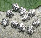Mellandelar platta blommor 6mm