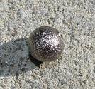 Stardust metallpärlor 4mm svartoxid 20st