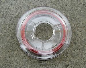 Smyckewire röd 0.45mm 10 meter