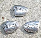 Budskapspärlor Peace - Trust