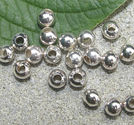 Kulor silverfärg 6mm 50st