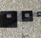 Halsbandsdelar 3mm korta