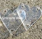Plexiglas connector hjärta 30mm