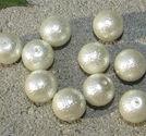 Ispärlor 12mm pärlvita 10st