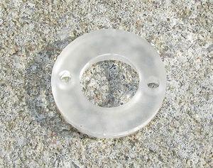 Plexiglas hänge Snöflinga 25mm 2st