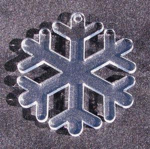 Plexiglas hänge Snöflinga 3 50mm