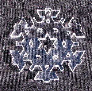 Plexiglas hänge Snöflinga 1 50mm