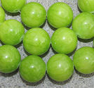 Jade 14mm limegrn