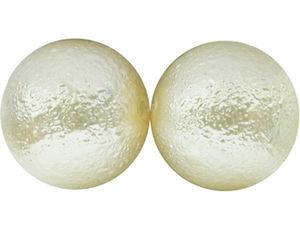 Ispärlor 6mm beige 70st