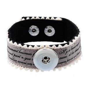 Armband med satinband och spets 23mm