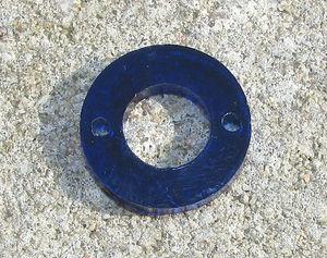 Plexiglas connector 6 hål 5st