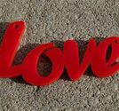 Plexiglas hänge ord LOVE