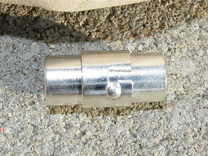 Magnetlås tub innermått 6mm