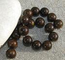 Jade 14mm mörkbrun